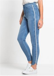 Jean super skinny avec effets brillants, RAINBOW