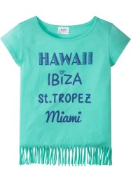 T-shirt avec franges, bpc bonprix collection
