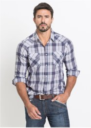 Chemise en seersucker Regular Fit, John Baner JEANSWEAR