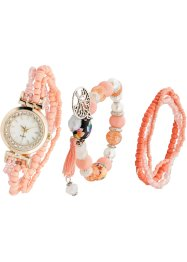 Montre avec bracelets en perles, bpc bonprix collection