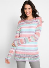 Pull avec structure en filet, bpc bonprix collection