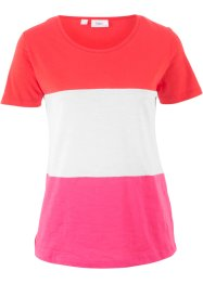 T-shirt manches courtes color-block, bpc bonprix collection