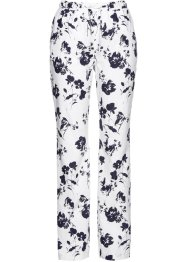 Pantalon en lin imprimé, bpc selection