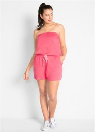 Combishort bustier en coton, bpc bonprix collection