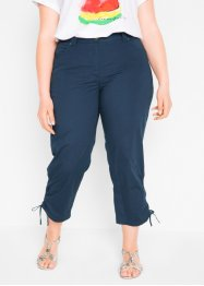 Pantalon paper touch 7/8 à taille extensible, bpc bonprix collection