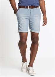 Short long en jean extensible Regular Fit, John Baner JEANSWEAR