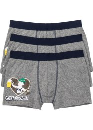 Lot de 3 boxers Oktoberfest, bpc bonprix collection