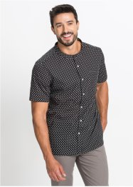 Chemise manches courtes à pois Regular Fit, bpc bonprix collection