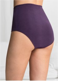 Lot de 5 slips taille haute, bpc bonprix collection
