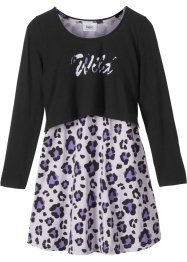 Robe + T-shirt boxy (Ens. 2 pces.), bpc bonprix collection