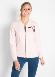 Gilet sweat avec broderie, bpc bonprix collection