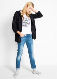 Gilet sweat long, manches longues, bpc bonprix collection