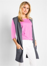 Gilet sans manches en maille, bpc bonprix collection