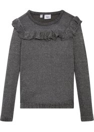 Pull en maille à volant, bpc bonprix collection