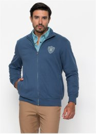 Gilet sweat-shirt de coupe spéciale ventre Regular Fit, John Baner JEANSWEAR