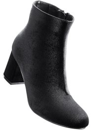 Bottines velours, bpc bonprix collection