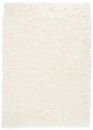 Tapis synthétique imitation peau de mouton, longues mèches, bpc living bonprix collection