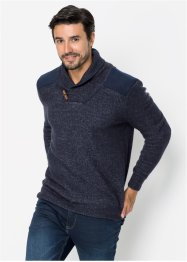 Pull à col châle Regular Fit, John Baner JEANSWEAR