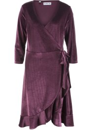 Robe portefeuille en velours - designed by Maite Kelly, bpc bonprix collection