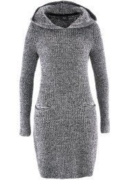 Robe en maille à capuche, bpc bonprix collection