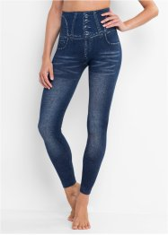 Legging sculptant sans coutures imitation jean, bpc bonprix collection
