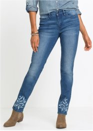 Jean extensible authentique brodé, SLIM, John Baner JEANSWEAR