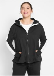 Veste sweat-shirt coton, manches longues, bpc bonprix collection