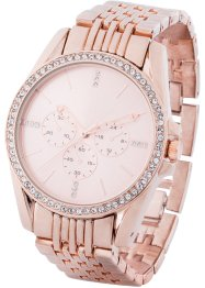 Montre avec cristaux Swarovski®, bpc bonprix collection
