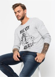 T-shirt manches longues Mickey Mouse Slim Fit, Disney
