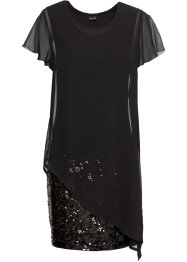 Robe de cocktail en jersey avec paillettes, BODYFLIRT