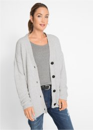 Gilet en maille duveteuse, bpc bonprix collection