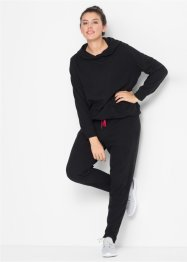 Ensemble sweat polaire à capuche avec pantalon polaire, bpc bonprix collection