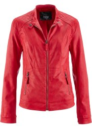 Veste biker synthétique imitation cuir, bpc bonprix collection