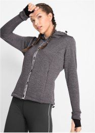 Veste sweat thermo à manches longues, bpc bonprix collection