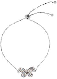 Bracelet serti de cristaux Swarovski®, bpc bonprix collection