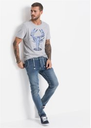 Jean jogging Regular Fit Tapered, RAINBOW
