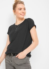 T-shirt boxy manches courtes, bpc bonprix collection