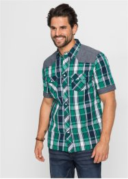 Chemise manches courtes Regular Fit, John Baner JEANSWEAR