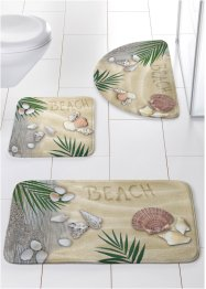 Tapis salle de bain Tropic, mémoire de forme, bpc living bonprix collection