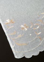 Vitrage avec broderie florale (1 pce.), bpc living bonprix collection