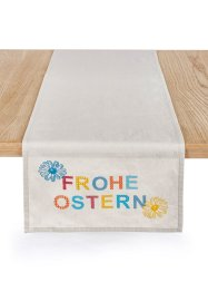Chemin de table Frohe Ostern, bpc living bonprix collection