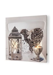 Tableau LED style campagne, bpc living bonprix collection