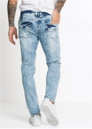 Jean extensible biker Slim Fit Straight, RAINBOW