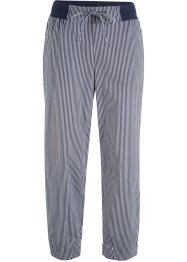 Pantalon 7/8 en lin mélangé, bpc bonprix collection