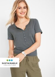 T-shirt blouse éco-responsable en lyocell, bpc bonprix collection