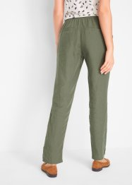 Pantalon durable, TENCEL™ Lyocell-lin, bpc bonprix collection