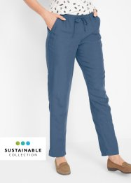 Pantalon éco-responsable en lyocell-lin, bpc bonprix collection