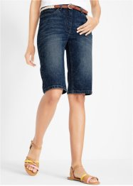Short en jean extensible aspect usé, bpc bonprix collection
