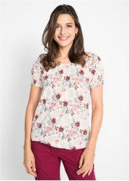 T-shirt col Carmen 100% coton, bpc bonprix collection