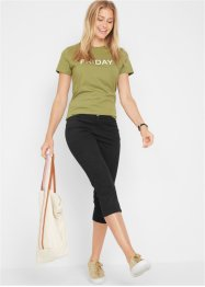 Pantalon 3/4 extensible, bpc bonprix collection